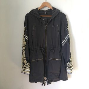 Free people embellished parka